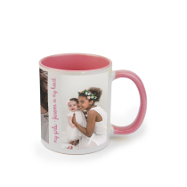 Mug Pink 325ml incl Delivery