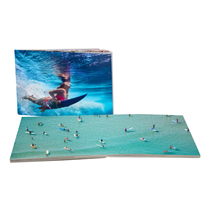 120pg 11x14inch (28x35cm) Pro Softcover Lay-Flat incl Delivery