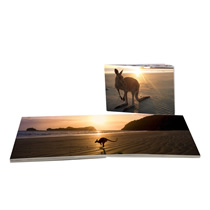60pg 6x8inch (15x20cm) Pro Softcover Lay-Flat incl Delivery
