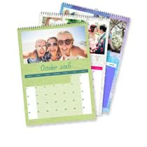 3 x A3 Portrait Personalised Calendar incl Delivery