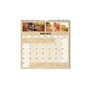 Personalised Square Calendar